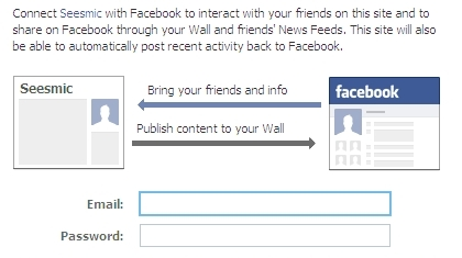 automatically post activity to Facebook Pages from Seesmic