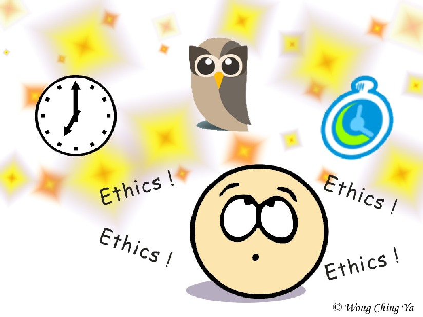 Ethics to use automatic status updates
