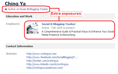 extra exposures for business fan page