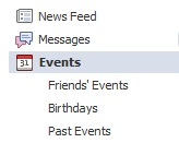 facebook events tab
