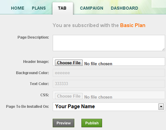 textualads basic plan configuration and setup