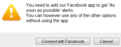 add Hyper Alerts to get immediate email notification for your facebook page