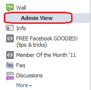 admin view for most recent posts and hidden posts